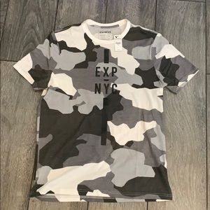 Men's express quality + fit small camo shirt
